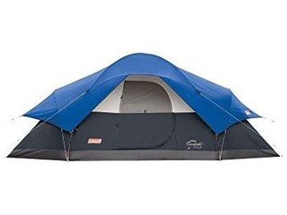 Coleman Red Canyon 8 Person Tent  Blue