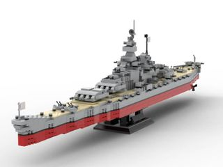 USS Missouri lego Ship