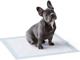 Amazonbasics Dog Puppy Pee Training Pads Regular Absorbency   150 Pack