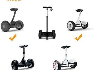 Handlebar Kickstand 3 in 1 Kit Compatible for Segway Ninebot S  Safer for Rider   All Heights   All Ages   Self Balancing Scooter Accessories