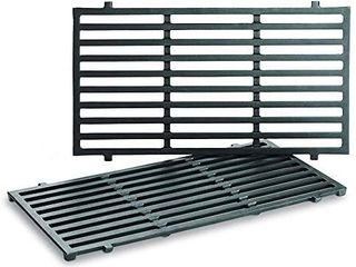 Uniflasy 7637 17 5 Inch Grill Cooking Grates for Weber Spirit 200 Series  Spirit E210  Spirit E220  Spirit S210  Spirit S220 with Front Control  Weber Spirit 200 Grill Grates