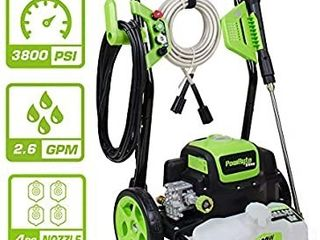 PowRyte Elite Electric Pressure Washer Electric Power Washer with Detergent Tank