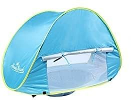 Monobeach Baby Beach Tent Pop Up Portable Shade Pool UV Protection Sun Shelter