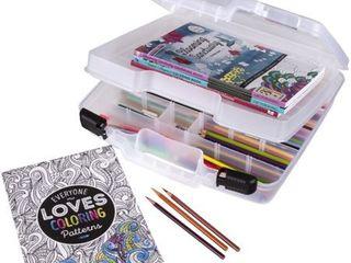 Scrapbooking Tool Organizer White Art Bin