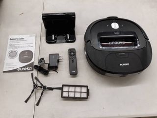 Eureka Groove Robot Vacuum Cleaner Wi Fi Connected App Alexa   Remote Control