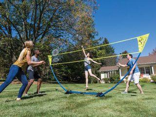 Eastpoint Sports Easy Setup Badminton Net Kit  4 Rackets 2 Birds  1 1 41705 ds