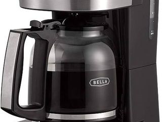 Bella  14755  12 Coffee Maker With Brew Strength Selector   Single Cup Featur