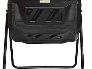 large Compost Tumbler  outdoor Garden Rotating dual Compartment   Better Air Retail   89 99