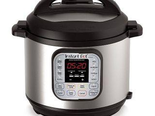 Instant Pot Duo 80 8 Qt Pressure Cooker  Silver