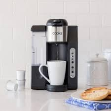 Cooks Essentials Single Serve Coffee Maker  Black