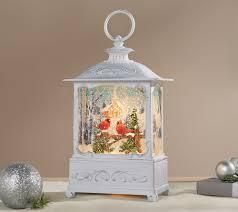 9  Illuminated Glitter lantern with Scene and Gift Box by Valerie