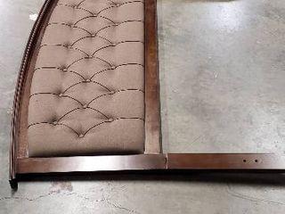 62  Wood  Fabric Tufted Queen Headboard