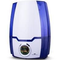 Air Innovations 1 3 Gallon SensaTouch Humidifier with Aroma Classic Blue