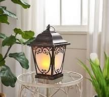 Indoor  Outdoor 15 Carriage lantern with Candle by Valerie Bronze