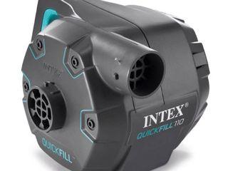 Intex 120 Volt Quick Fill AC Electric 38 9 CFM Inflatable Float   Air Bed Pump