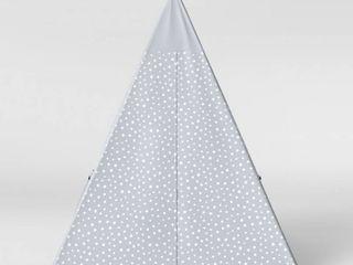 Kids  Tent Stars Gray   Pillowfort