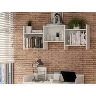 Manhattan Comfort Hampton Trio Floating Wall Shelves