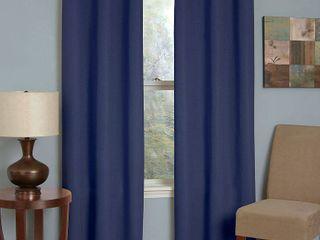 Eclipse Microfiber Energy Efficient Grommet Blackout Curtain Panel