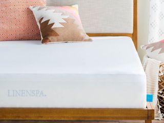 Full Size linenspa Premium Mattress Protector   Vinyl Free