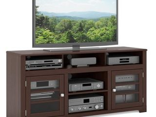 West lake TV Bench in Dark Espresso  for TVs up to 68