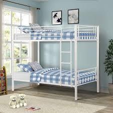 Porch   Den Alder Kids Toddler Metal Twin over Twin Bunk Bed  Retail 220 47
