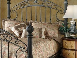 King  Chesapeake Brown Finish Rails Not Included Headboard  Retail 482 99