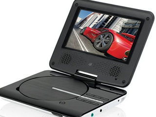 GPX   7  Portable DVD Player