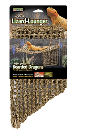 100  NATURAl lIZARD lOUNGER  IDEAl FOR All ClIMBERS  ISE WITH GlASS  PlASTIC OR ACRYlIC HABITATS