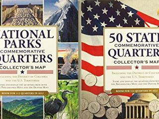 Quarters Collector s Maps Value Pack  Set of 2