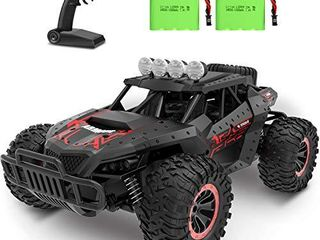 RC Car 1 16 Scale Remote Control Car Off Road RC Trucks 2 4 GHz with 2 Rechargeable Batteries Electric Toy Car for All Adults   Kids