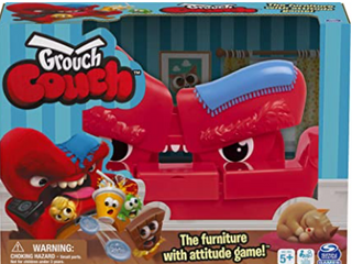 Spin Master Games   Grouch Couch   The Furniture with Attitude Game