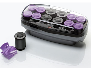 Conair Xtreme Instant Heat Jumbo And Super Jumbo Hair Setter with Super Clips  12 count   2 sizes