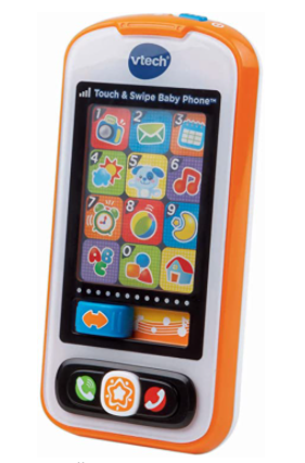 VTECH BABY TOUCH AND SWIPE BABY PHONE FOR 6 MO