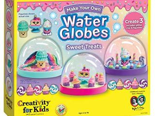 Creativity for Kids Make Your Own Water Globes Sweet Treats Create 3 DIY Dessert Themed Snow Globes