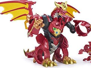 Bakugan  Dragonoid Infinity Transforming Figure with Exclusive Fused Ultra and 10 Baku Gear Accessories