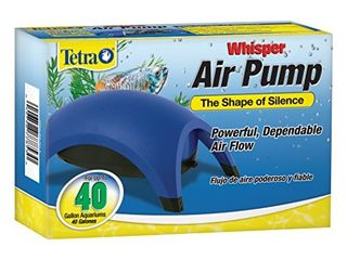 Tetra Whisper Air Pump 20 To 40 Gallons  For aquariums  Powerful Airflow  Non Ul listed