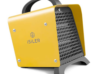 ISIlER ElECTRIC FAN HEATER WITH BUIlT IN THERMOSTAT