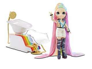 Rainbow High Salon Playset with Rainbow of DIY Washable Hair Color Foam for Kids and Dolls   Doll Not Included