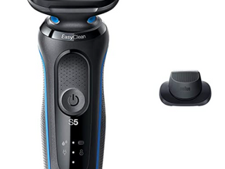 BRAUN SERIES 5 WET OR DRY 3 BlADE SHAVER KIT WITH PRICISION TRIMMER