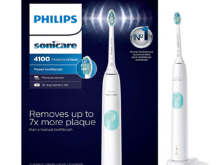 PHIlIPS SONICARE 4100 PROTECTIVE ClEAN RECHARGEABlE SONIC TOOTHBRUSH
