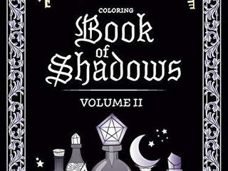 Coloring Book of Shadows  Volume II