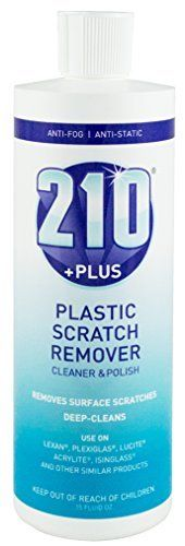 Sumner laboratories 23305 210 Plus Plastic Scratch Remover Cleaner and Polish  15 fl  oz