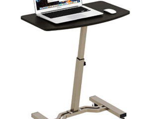 Shw Height Adjustable Mobile laptop Stand Desk Rolling Cart  Height Adjustable F