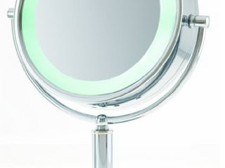 Danielle Creations   lED Vanity Mirror   15x Magnification