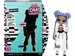 l O l  Surprise  O M G  Series 3 Chillax Fashion Doll with 20 Surprises  Arm Broken