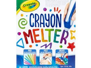 Crayola Crayon Melter Kit with Crayons  Gift for Kids  Ages 8 11