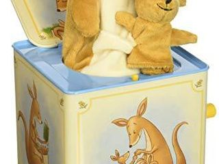 Schylling Kangaroo Jack in The Box Musical Wind up Toy