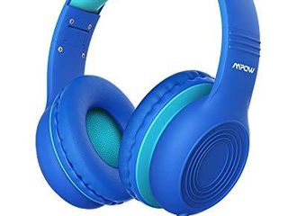 Mpow CH6S Kids Headphones with Microphone Over Ear  On Ear Headphones for Kids with HD Sound Sharing Function for Children Boys Girls  Volume limit Safe 85dB 94dB Headset for School  Travel