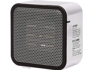 Amazon Basics   Small Ceramic Space Heater