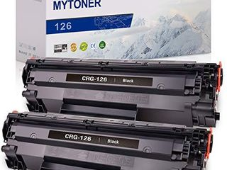 MYTONER Compatible Toner Cartridge Replacement for Canon 126 CRG126 Toner for imageClASS lBP6230dw lBP6200d laser Printer  Black  2 Pack